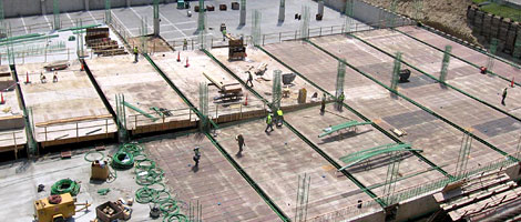 Rebar Post Tention - Post-tensioning (P T ) steel strand is